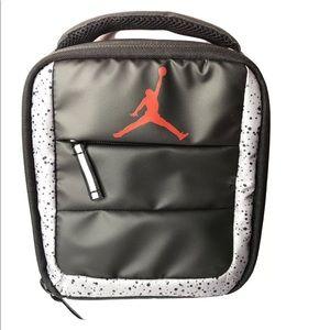 Nike Air Jordan Lunch Box Bag Tote Insulated Black